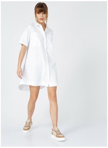 Fabrika Fabrika Kadın Beyaz Elbise Beyaz